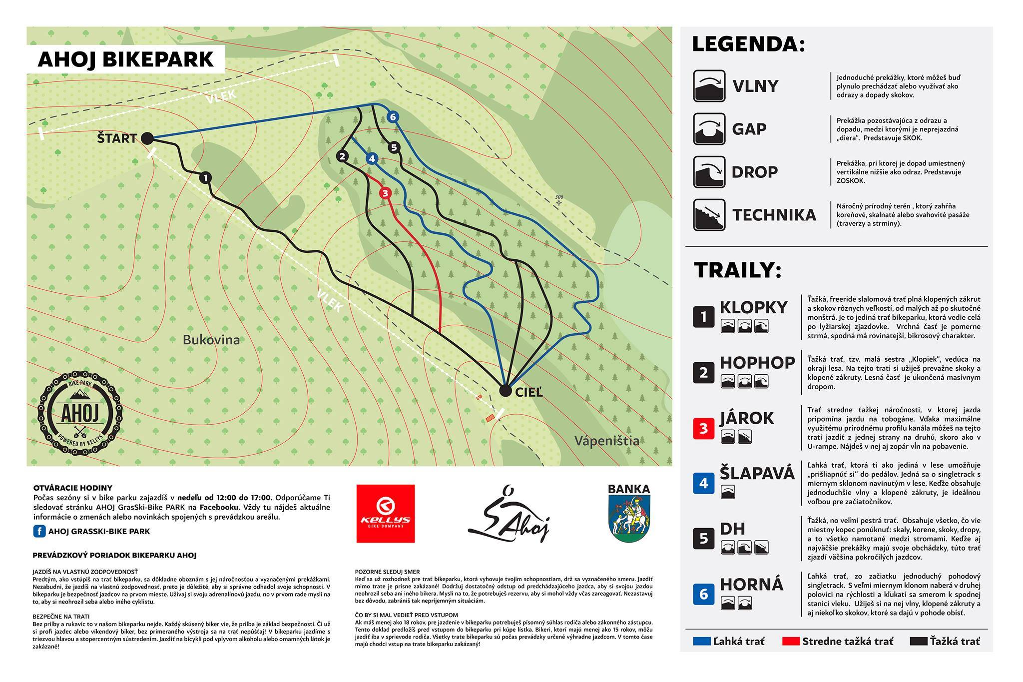 Legenda Bike park Ahoj