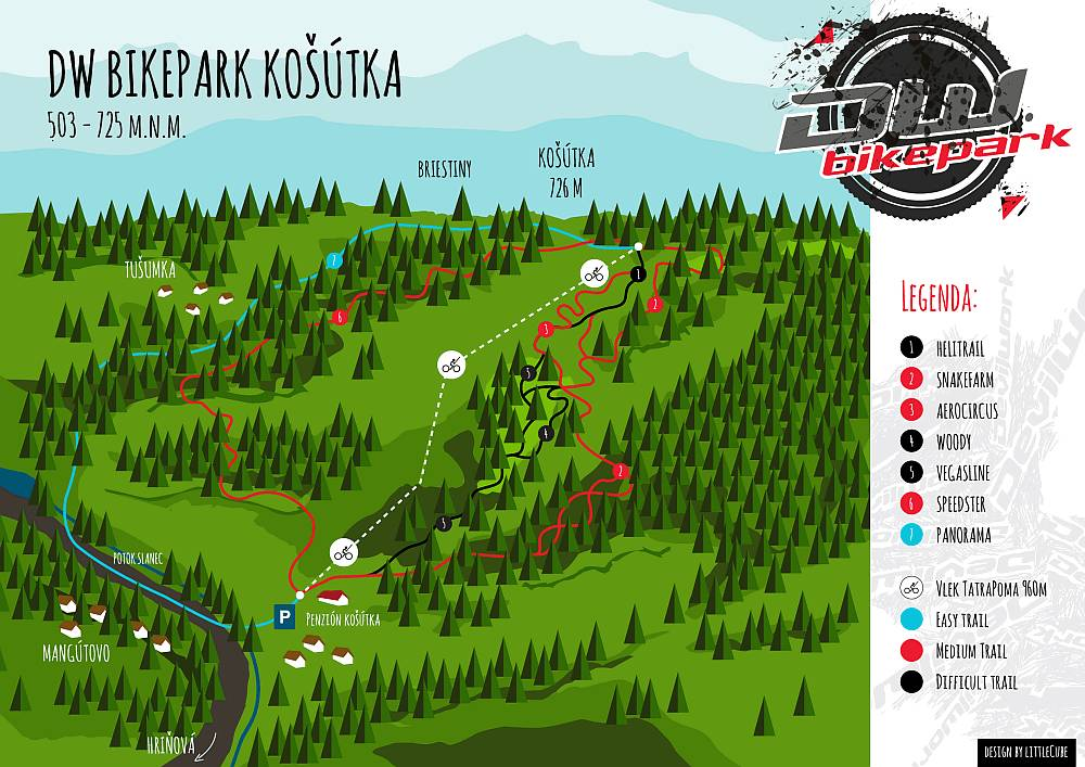Legenda Bike park Absolut Košútka