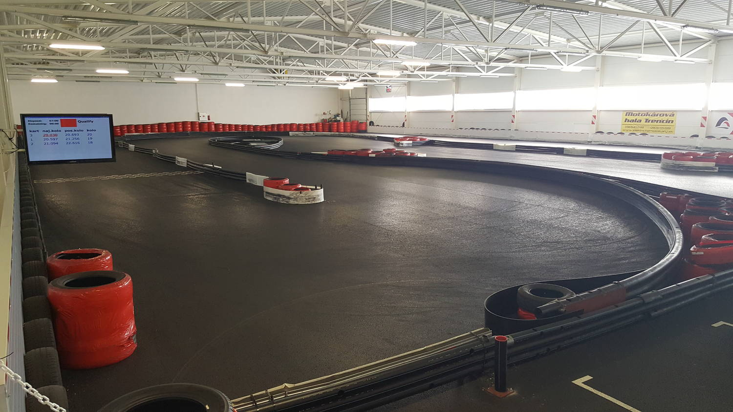 Motokáry Volt racing center